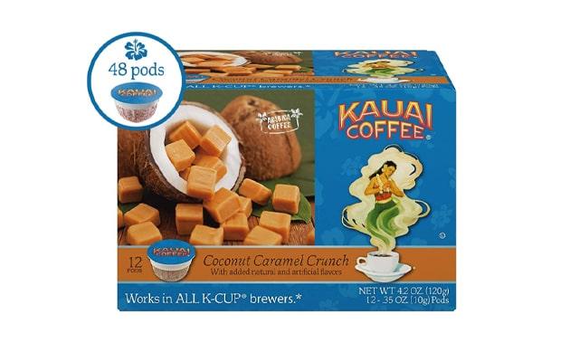 Kauai-Coffee-Single-Serve-Pods-Coconut-Caramel-Crunch-Flavor