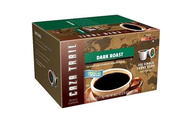 Caza-Trail-Coffee-Dark-Roast-100-Single-Serve-K-Cups