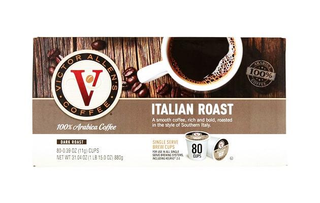 Italian-Roast-for-K-Cup-Keurig-2.0-Brewers-Victor-Allen's-Coffee-Dark-Roast-Single-Serve-Coffee-Pods